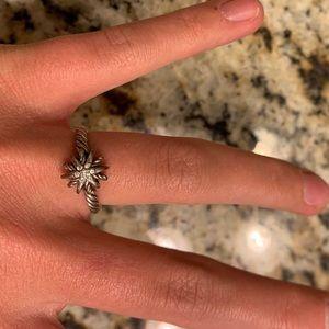 David Yurman Star Ring